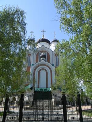 Храм Всех святых земли Российской просиявших Воронеж Храм