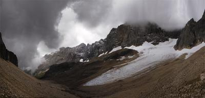 На пути к  вершине горы