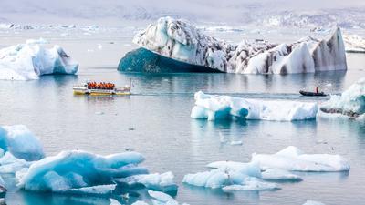 ***Во льдах Исландии Лагуна ледниковая лагуна Исландия