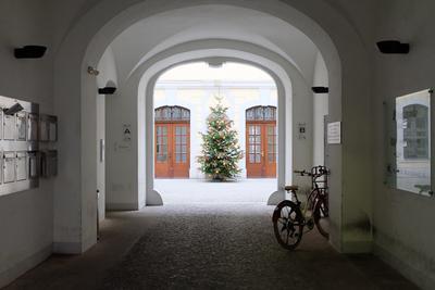 *** Германия Лейпциг город подворотня двор