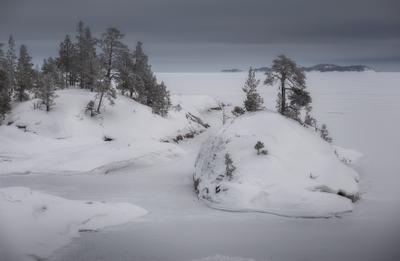 *** ладога карелия шхеры зима