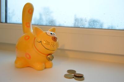 Кот-капилка игрушка