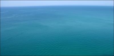 Синева море волны