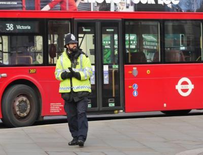 Я вышел на Пикадилли... Лондон город полицейский