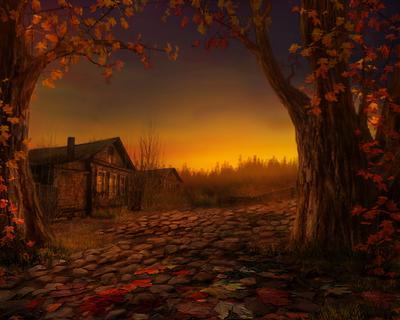 Осенний вечер кострома