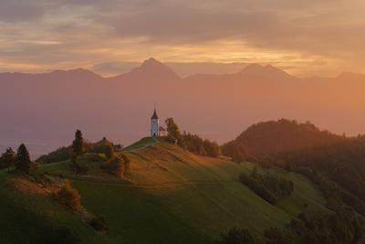 Jamnik Slovenia Alps Словения Альпы церковь Ямник Jamnik
