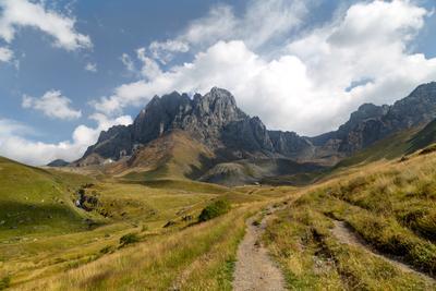 Chaukhi mountain Chaukhi mountain Georgia Грузия горы природа пейзаж landscape