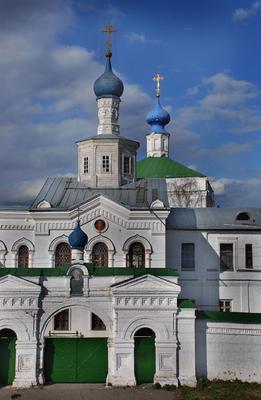 Церковь в Рязани весна, Рязань
