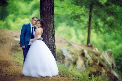 *** свадьба жених невеста обрыв объятия