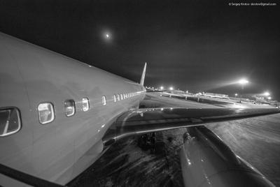 *** plane самолет зима Россия Москва Домодедово крыло фюзеляж хвост