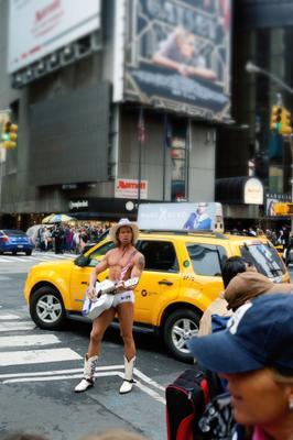 Певец Улиц Нью-Йорк улица