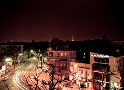 Ночная Одесса Одесса центр ночь