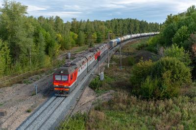 Электровоз 2ЭС6-953 Железная дорога подвижной состав электровоз Синара 2ЭС6 Сызрань М5 Самарская область