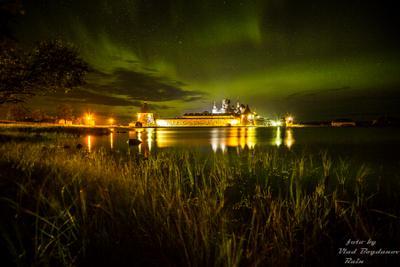 ***Соловки, ночной Кремль соловки монастырь путешествия