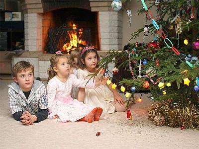 волшебство новый год елка дед мороз чудо