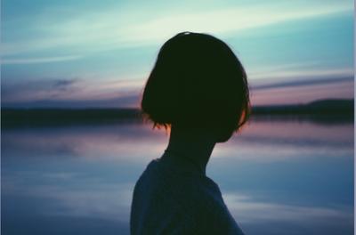 Единение с непоколебимым закат солнце небо портрет