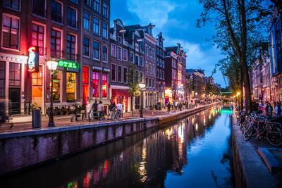 Красные фонари Амстердам Квартал Красных Фонарей d3foto