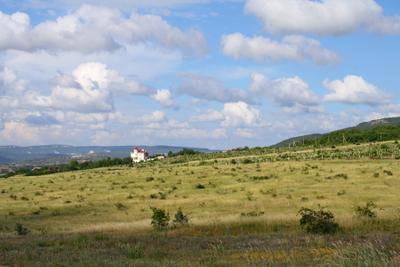 В окрестностях Балаклавы балаклава долина виноградники