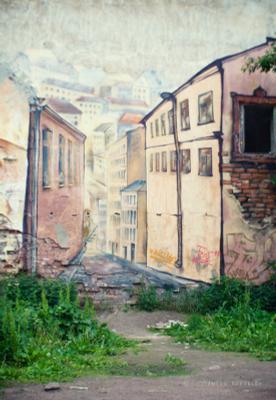 On the Vyborg streets Anton Korablev