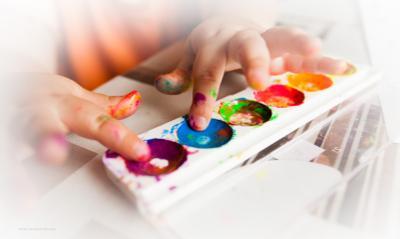 О художниках дети краски пальчики