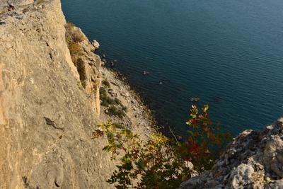С высоты горы Алчак (Крым, Судак)