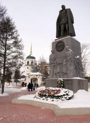 Памятник Колчаку г. Иркутск