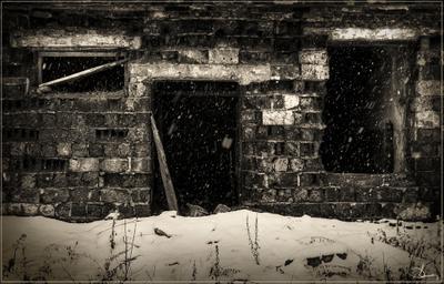 Проклятый старый дом...