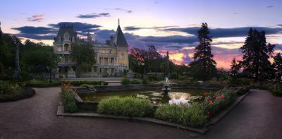 Утро в массандровском дворце