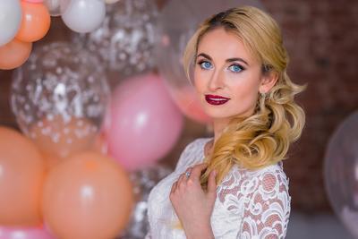 *** свадебное платье свадьба невеста глаза шары шарики фотографильясорокин ильясорокин