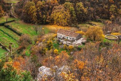 Черногрия осень черногория пейзаж деревня природа