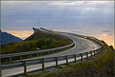 Atlantic Road Atlantic, Road, Norway