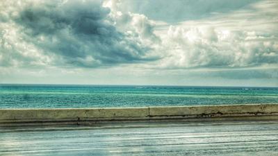 Краски моря. Море небо облака