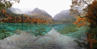 ~~~ Jiuzhaigou #21 ~~~ Jiuzhaigou Цзючжайгоу долина_9_деревень Jiuzhai_valley China Китай vakomin