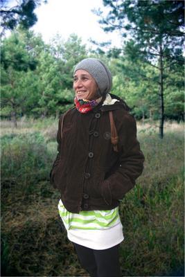 Портрет девушки в лесу девушка лес осень сосны