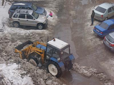 Снегоуборка трактор Беларус
