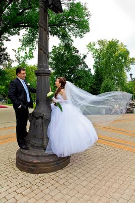 *** пасмурно, осень, свадьба...