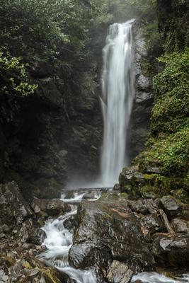*** Абхазия водопад