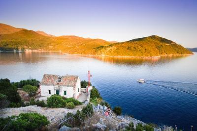 Кусочек мечты хорватия, горы, море, люди, маяк
