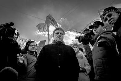 Взгляд демонстрация марш Москва Явлинский