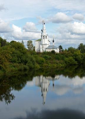 Отражение (Личному троллю-2) Суздаль церковь архитектура