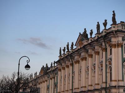 Городские зарисовки  Зимний дворец Эрмитаж Санкт-Петербург