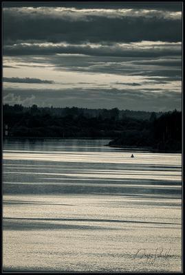 Закат на реке Ковжа Ковжа закат река Вологодская