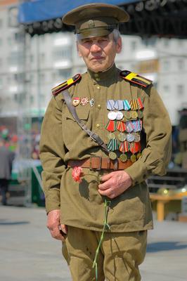 """Мы уходим"" 9 мая ветераны"