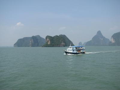 ***  в море Южно-Китайском ...кораблик плывёт... море кораблик путешествие скалы