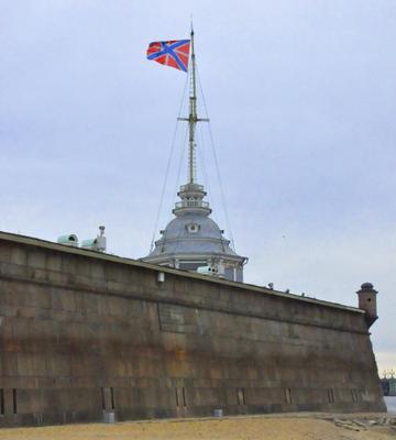 Сухопутный линкор питер петропавловская крепость