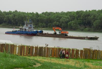 Застава Казаки застава река корабль баржа косплей