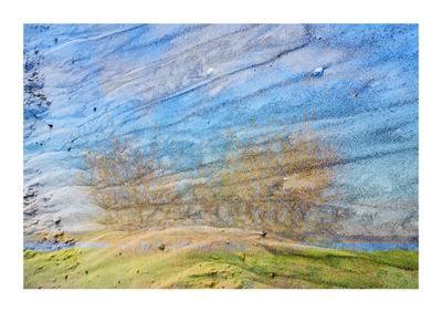 Песок. Абстракт. абстракт краски природа