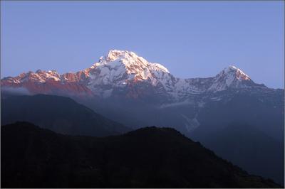 Обычное утро в горах.