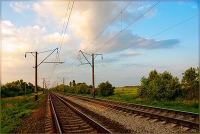 Тишина тишина железная дорога