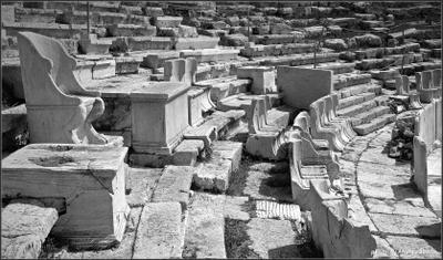VIP - места Греция Афины амфитеатр трибуна сидения кресла